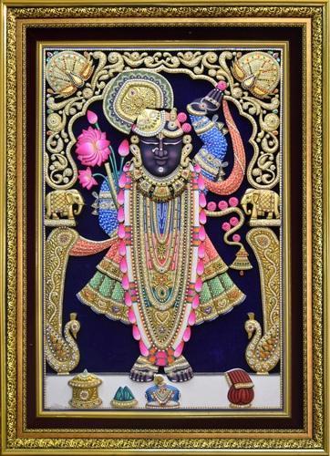 shreenathji-shrinathji-rajbhog-hand-wood-painting-gold-leaf-extra-large-wood-painting-with-frame-500x500